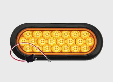 Yellow 6″ Oval Warning Lamp Kit